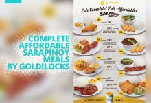 Goldilocks Sarapinoy Food