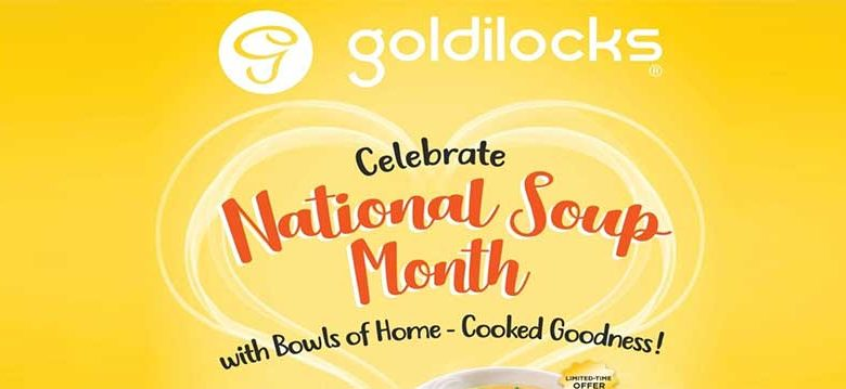 goldilocks national soup month
