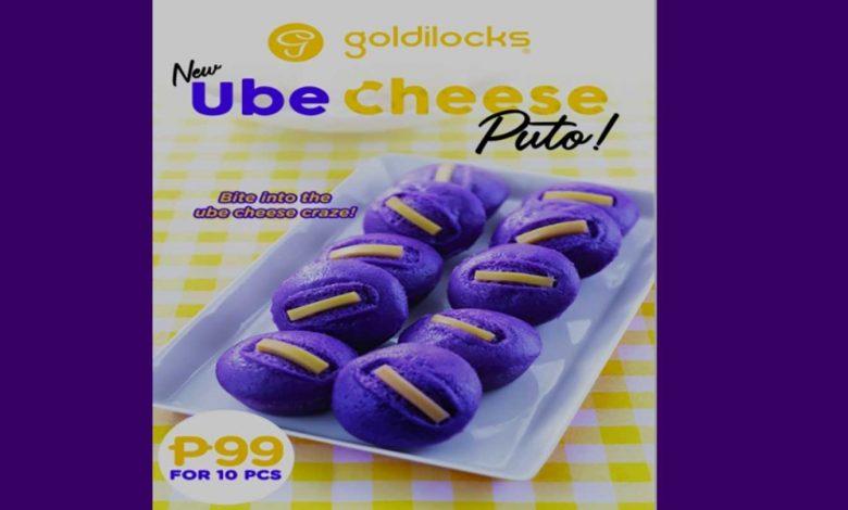 Goldilocks Ube Puto